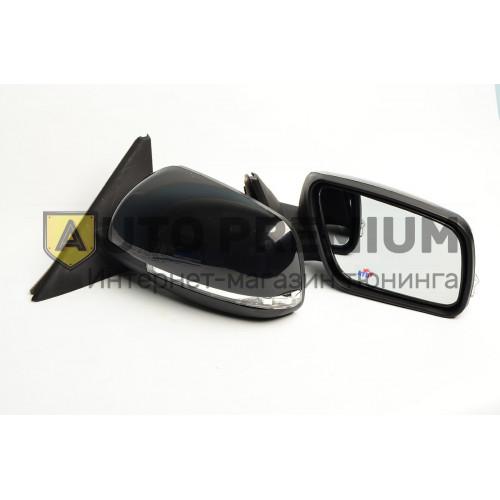 Оригинальные боковые зеркала на ВАЗ 2170-2172 Приора SE электропривод, повторитель и обогрев в цвет